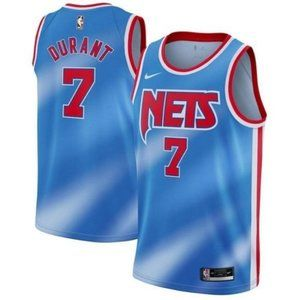 Brooklyn Nets Kevin Durant #7 Blue